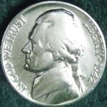 U S 1942 War Nickel