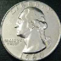 Silver Washington Quarter